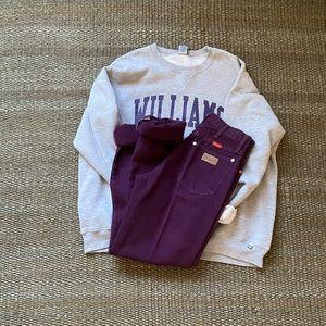 Vintage Purple Wrangler high waisted jeans